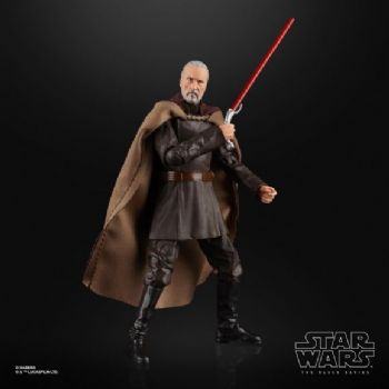 "Star Wars The Black Series Attack of the Clones Count Dooku 6"" Figure - Pre-Order full payment"